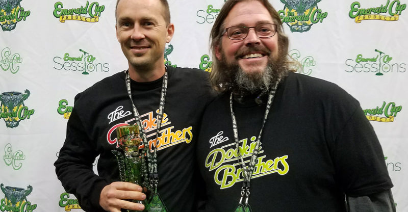 The Dookie Brothers won for best flowers at the Emerald Cup in Santa Rosa. Heather Irwin/PD