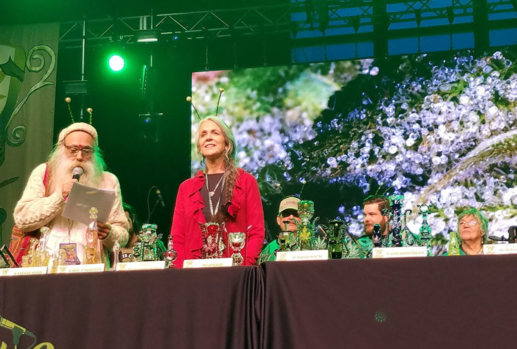 Swami and Nikki, judges for the Emerald Cup in Santa Rosa. Heather Irwin/PD