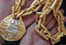 Luxury weed smokable chain