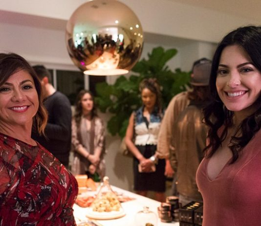 Sailene Ossman, left, and Olivia Alexander of Privée Social Club. (Photo by Brian Feinzimer)