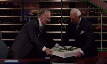 Bill Maher Celebrates 420th Show By Having Roger Stone Bring Him a Marijuana Cake