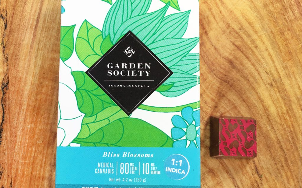 Review: Garden Society Bliss Blossoms Milk Chocolate