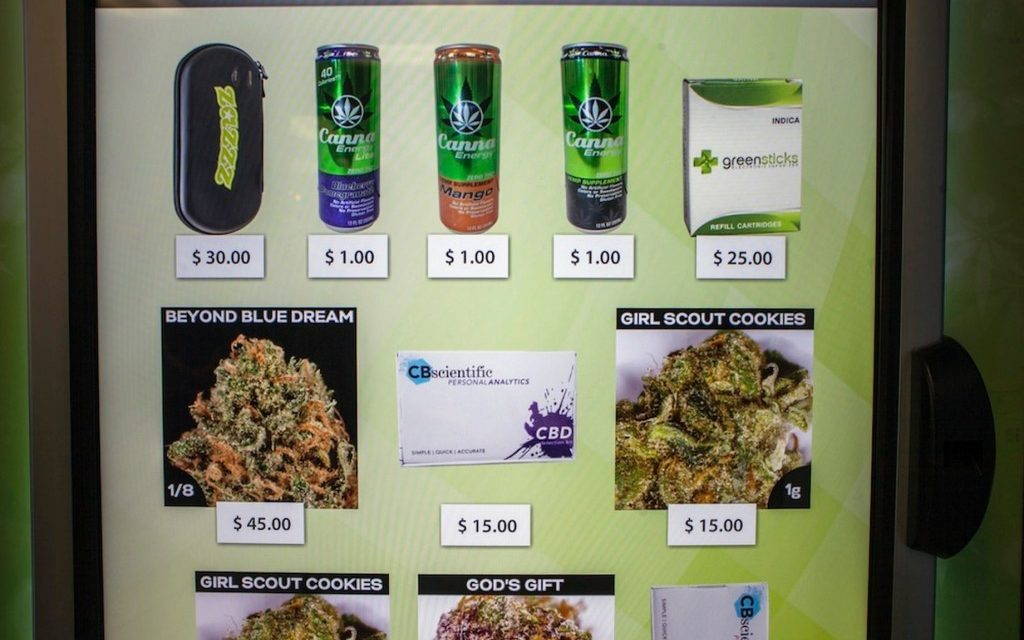 Marijuana Sold In Vending Machines May Be Happening Soon