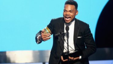Chance the Rapper at the BET Awards.