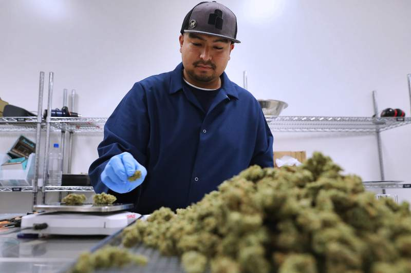 Pot businesses rush to fill Santa Rosa industrial buildings