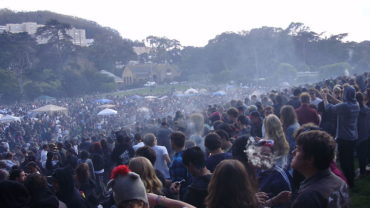 SF's Hippie Hill 420 celebration in 2014
